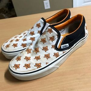 Vans angry star slip on shoes M5